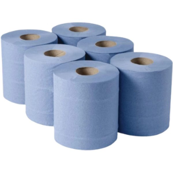 Centrefeed Omega BLUE Roll 104M X 6 21012014