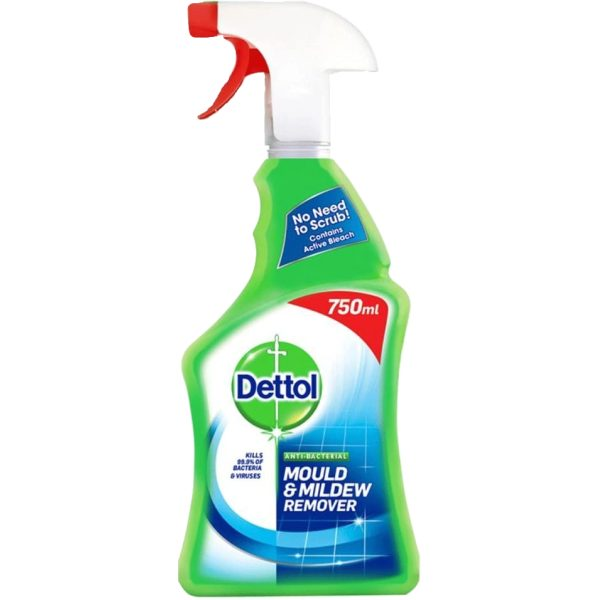 Dettol Mould And Mildew Trigger 750ML X 6