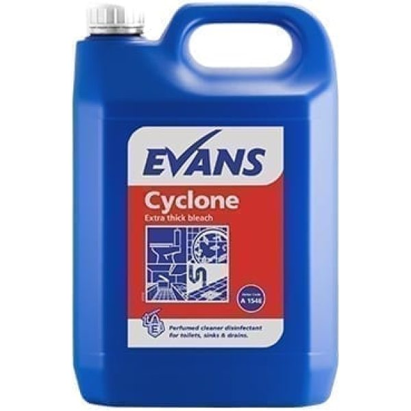 Evans Cyclone Extra Thick Bleach 5LTR