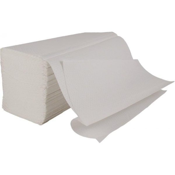 Hand Towels 2 Ply V-Fold Luxury WHITE  X 3000