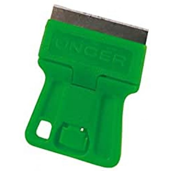 Safety Scraper With  GREEN Rubber Handle
