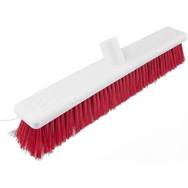 Washable Broom Soft RED 18''