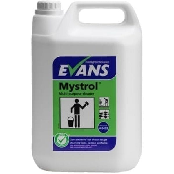 Evans Mystrol Concentrated All Purpose Cleaner 5LTR X 2