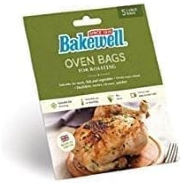 Bakewell Oven Bags Large 35x43CM 24 X 5 Bags Per Pack/24