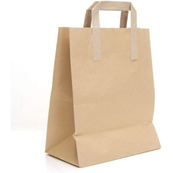 Purekraft Paper Carriers Self Opening Sack Small 7x7'' X 250