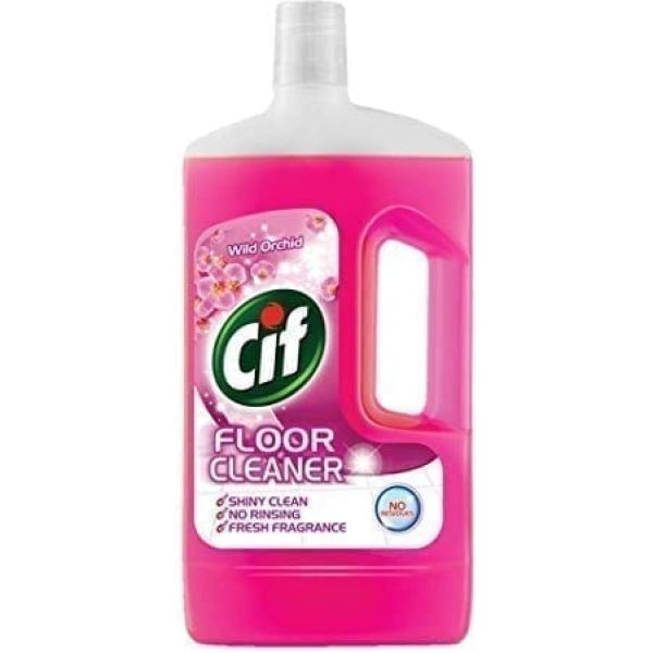 Cif Floor Cleaner Orchid 1LTR  X 8