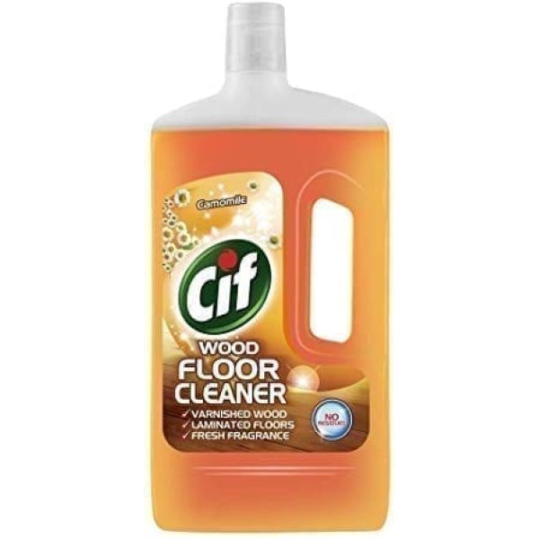 Cif  Floor Cleaner Camomile 1Ltr X 8