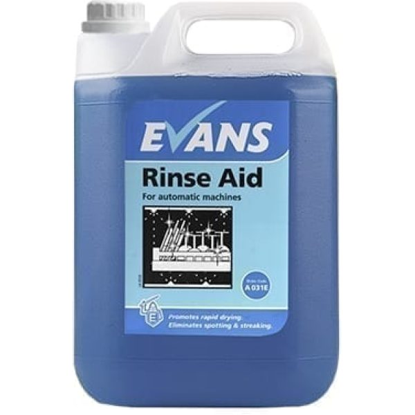 Evans Rinse Aid Multi For Automatic Machines 5LTR