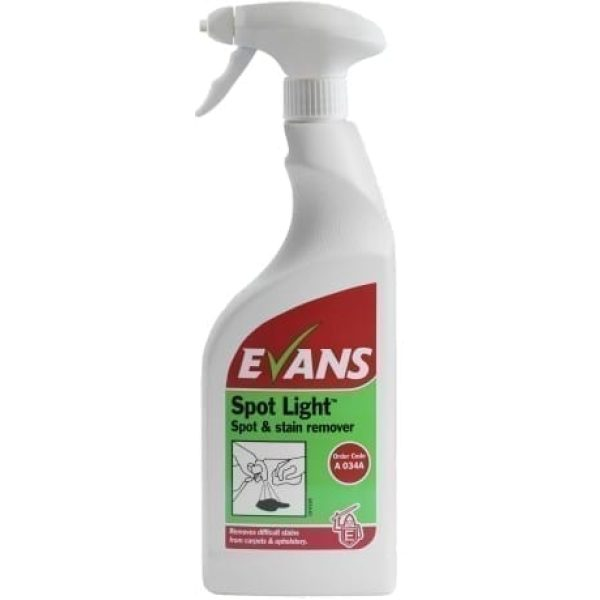 Evans Spot Light Spot And Stain Remover For Carpets 750ML X 6