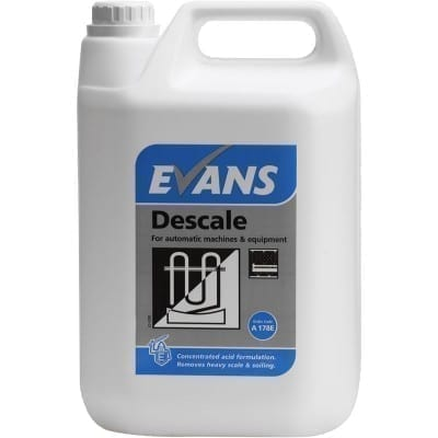 Evans Descale For Automatic Machines and Equipment 5LTR