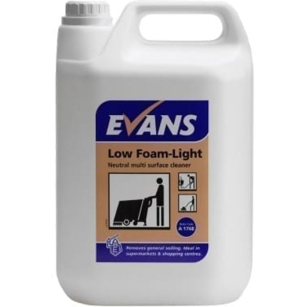 Evans Low Foam Light Multi Surface Cleaner 5LTR