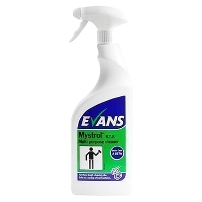 Evans Mystrol RTU Concentrated All Purpose Cleaner 750ML X 6