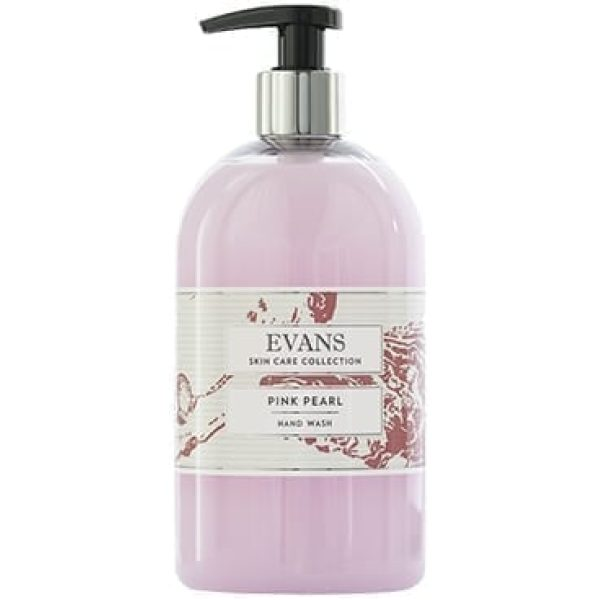 Evans PINK Pearl Pearlised Hand, Hair And Body Wash 500ML X 6
