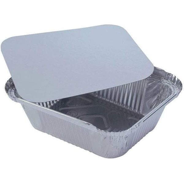 AFC No.2A Rectangular Heavy Duty Lid Take Away X 1000