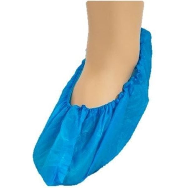 CPE Overshoes BLUE 14'' X 100