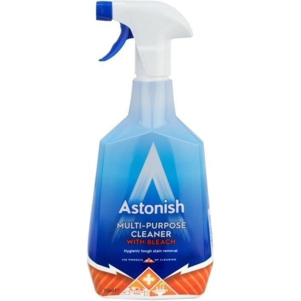 Astonish Multi Surface Cleaner With Bleach Trigger 750ML X 12