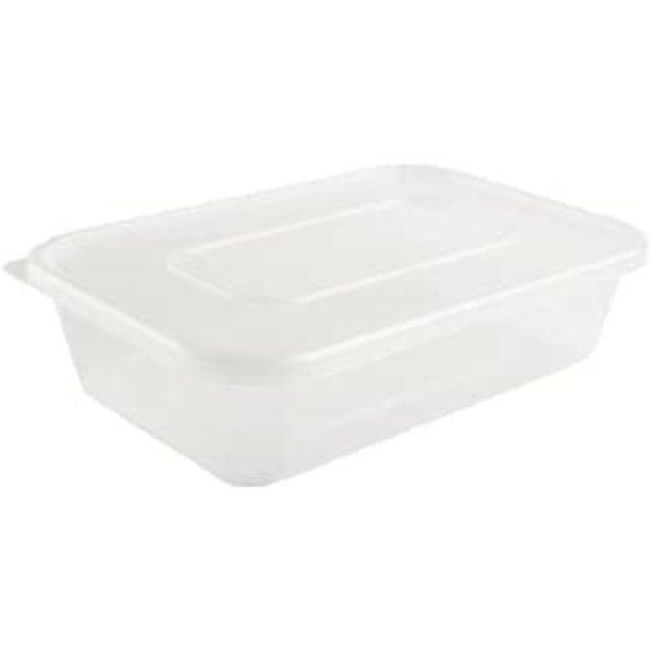 My Choice Plastic Rectangular Container With Lid  X 250 C500