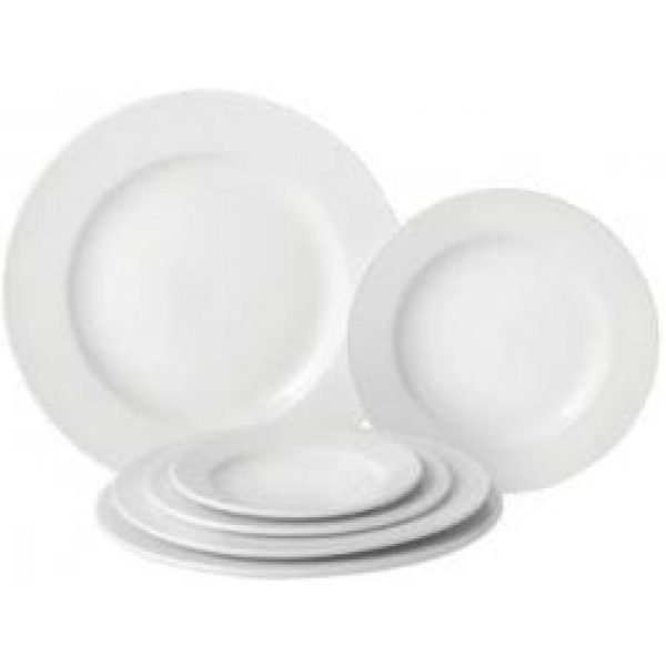 Dinner Plate PURE WHITE 10.6'' X 6