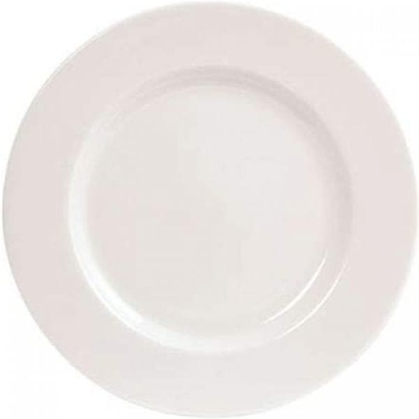Pure White Side Plates 8''  X 6