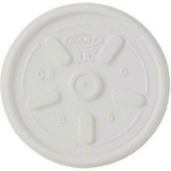 Polystyrene Lid For 2/4/7OZ Cups X 1000