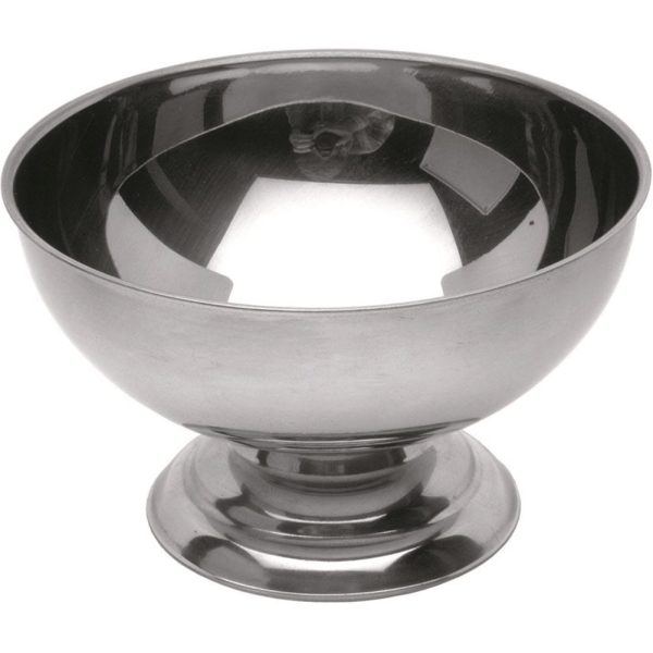 Ice Cream Bowls Stainless Steel X 12