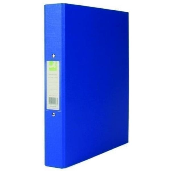 A4 Paper Over Board Ring Binder BLUE 25mm