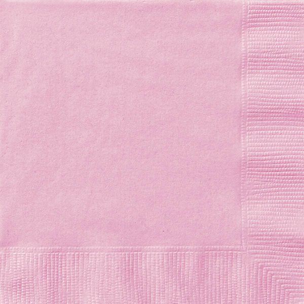 Lovely PINK Lunch Napkins X 20