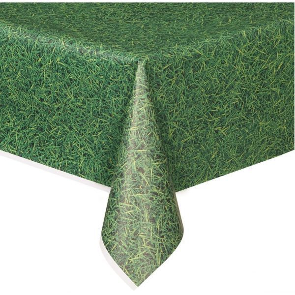 Green Grass Pattern Table Cloth 54x108''