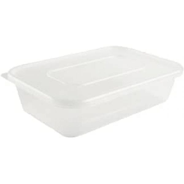 Microwave Rectangle Deep Container Plastic 24X5