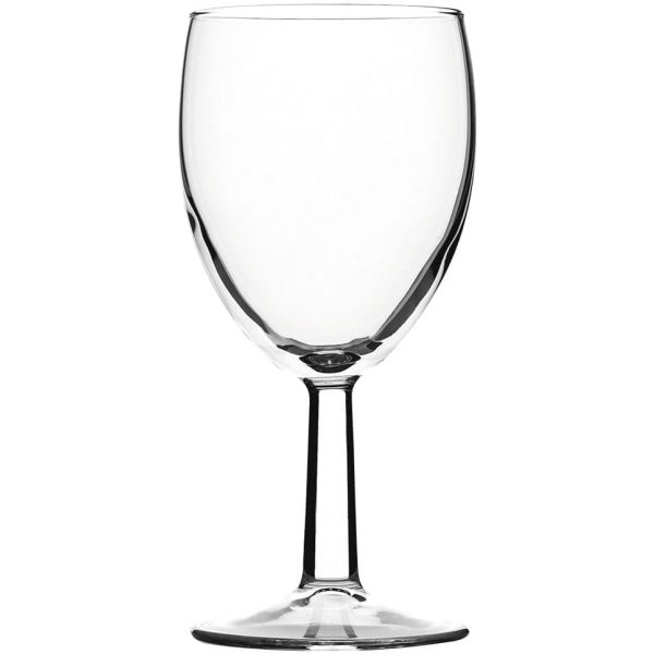 Plastic Wine Glasses 175CC 8 X 24