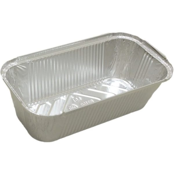 Aluminium Containers Packed With Lids 2LTR 11 X 10