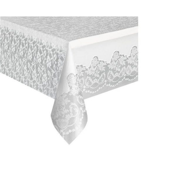Lace Basic Tablecover WHITE
