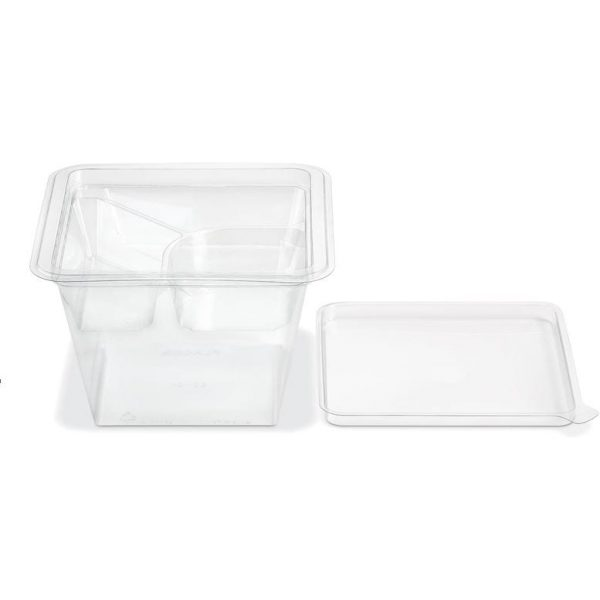 Compartment 4 Container Fresh N Clear Plastic 32OZ X 300
