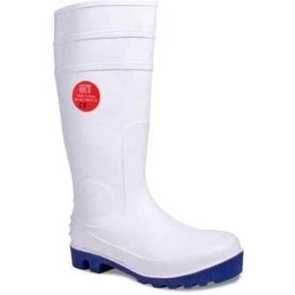 Heavy Duty Food Grade Safety Wellington WHITE Size 12