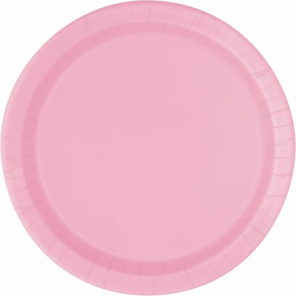 LOVELY PINK Plate 7''  X 20