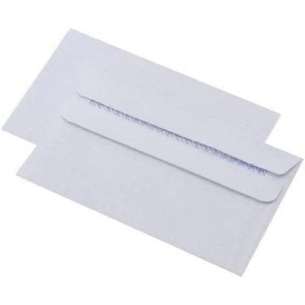 Opportunity Envelope Self Seal WHITE 110mmx220mm X 1000