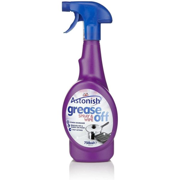 Grease Off Spray And Wipe 750ML