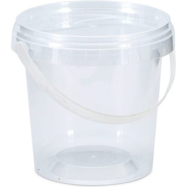 Round tubs CLEAR 3LTR