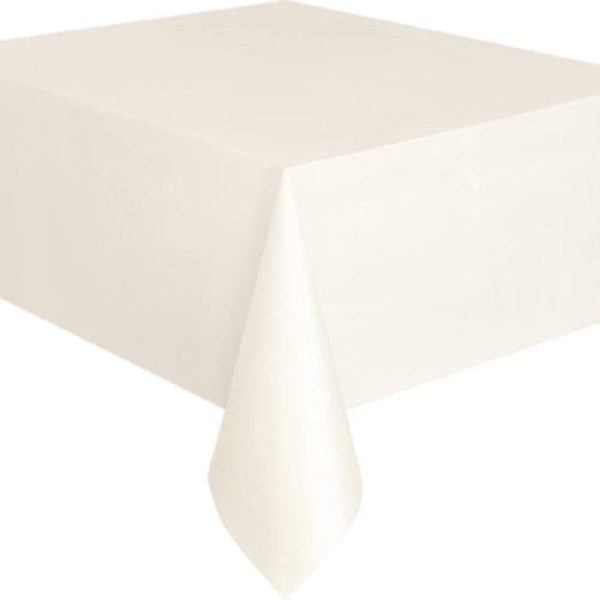Everyday TableCloth Disposable Plastic 54X108''  X 8