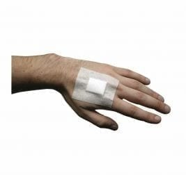 Adhesive Wound Dressing Small 60x70MM X 25