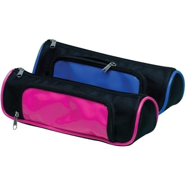 Neon Wedge Pencil Case Assorted