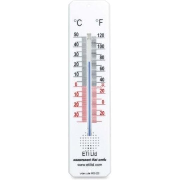 Plastic Framed Room Thermometer