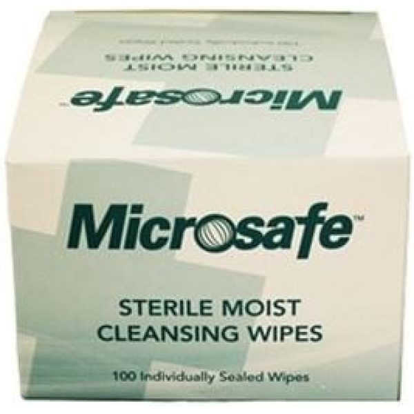 Wound Wipes Sterile PK 100