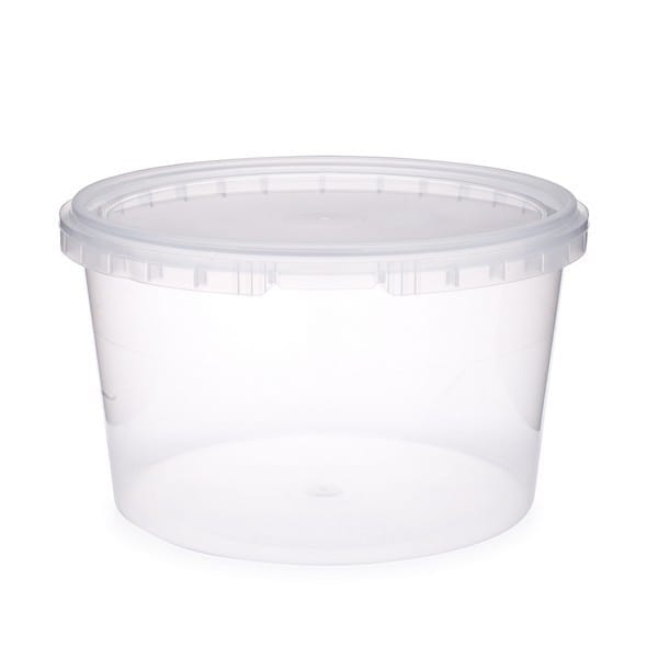 SealPro Plastic Containers With Lids 48OZ 10 X 5