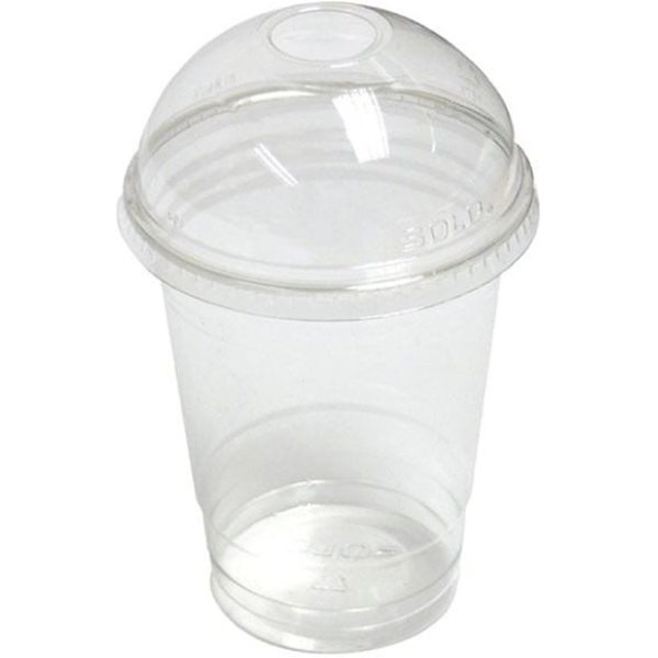 Clear Smoothie Cups CLEAR 10 OZ Plastic