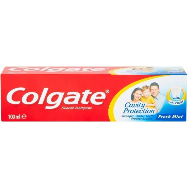Colgate Toothpaste Cavity Protection Freshmint 100ml X 12