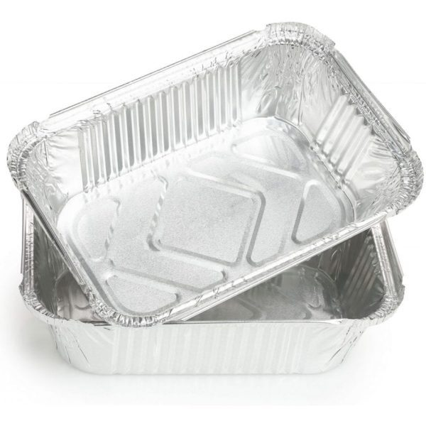 Packed Aluminium No.6 (Passover) container superior SILVER 1LTR