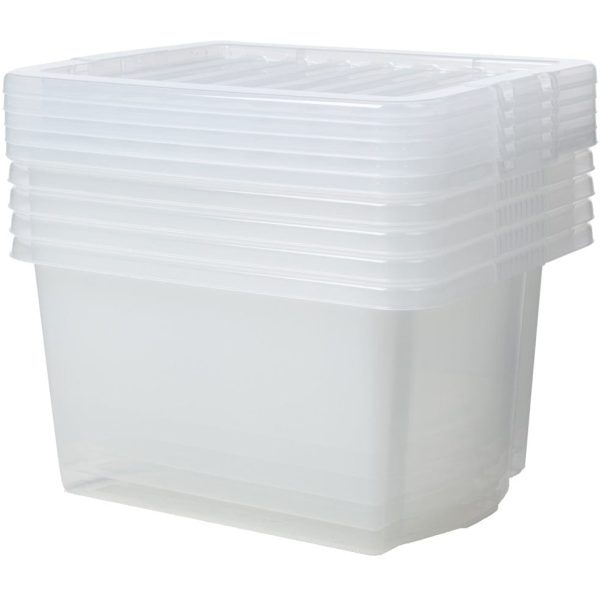 Crystal Box & Lid CLEAR 6.5LTR