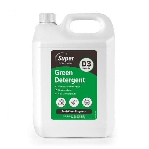 D3 Washing Detergent GREEN 5L