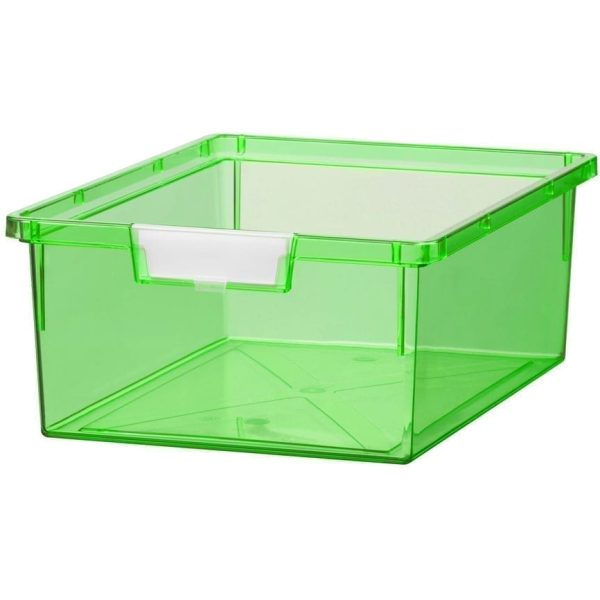 SW Double Depth Tray in PRIMARY GREEN 312x425x157MM